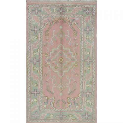 3x5 Antique Pink Turkish Oushak Rug - 102390