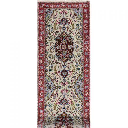 """3'0"""" x 9'9"""" Persian Tabriz Rug - 105864"""