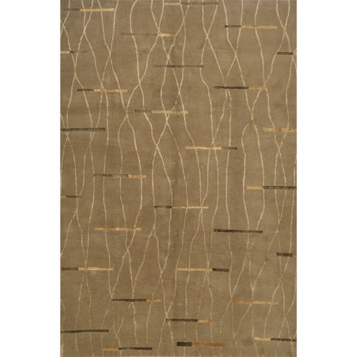 Contemporary/Transitional Hand-woven Rug 6.0 x 9.0