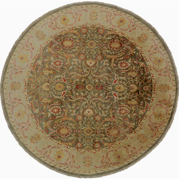 Round Agra Style Area Rug 7.10x8.0 - 106249