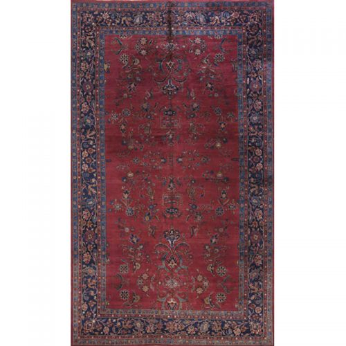 Antique Hand-woven Turkish Sparta Rug 9.0 x 15.0