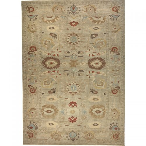 A108721 - Traditional Hand-woven Persian Sultanabad Rug 10.2 x 14.2