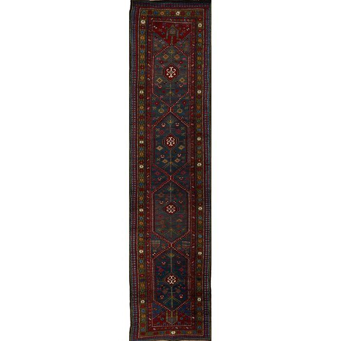 "3'2"" x 14'9"" Antique Persian Sarab Runner - 107915"