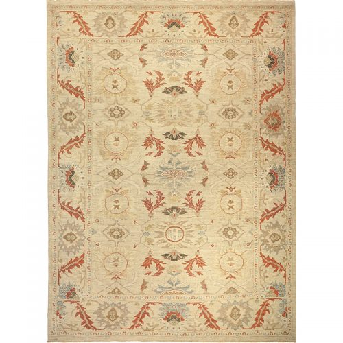 Traditional Hand-woven Persian Sultanabad Rug 10.0 x 13.8