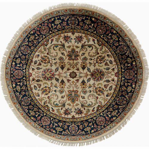 Round Sarouk Farahan Style Rug 5.0x5.0 - 105795