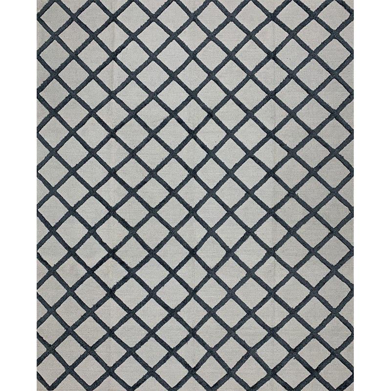 Modern Flatweave Area Rug 8.1x10.1 - D500423