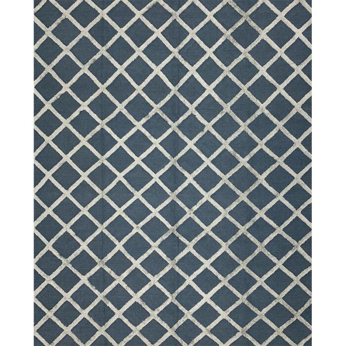 Modern Flatweave Area Rug 8.1x10.1 - D500427