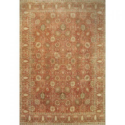"""13'7"""" x 19'10"""" Old Tabriz Style Rug - 108609"""