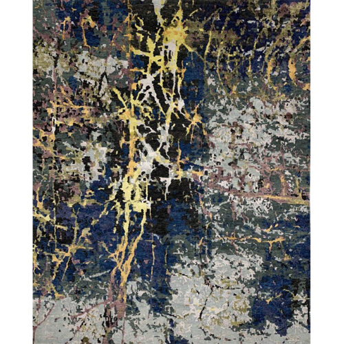 Modern Abstract Area Rug 7.11x9.11 - A108743