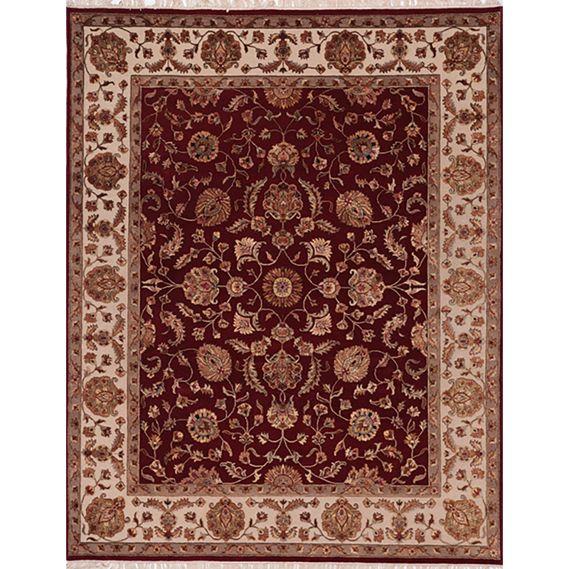 C500422 Traditional Hand Woven Persian Tabriz Style Indo