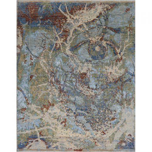 A500509 - Modern Abstract Area Rug 8.1x10.4
