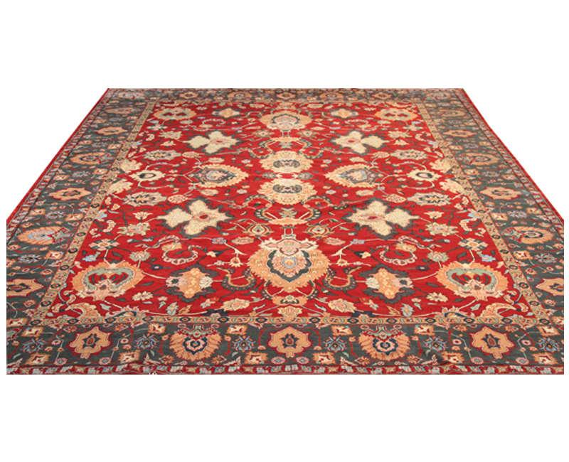 B500102 Traditional Handwoven Kashan Style Area Rug 13