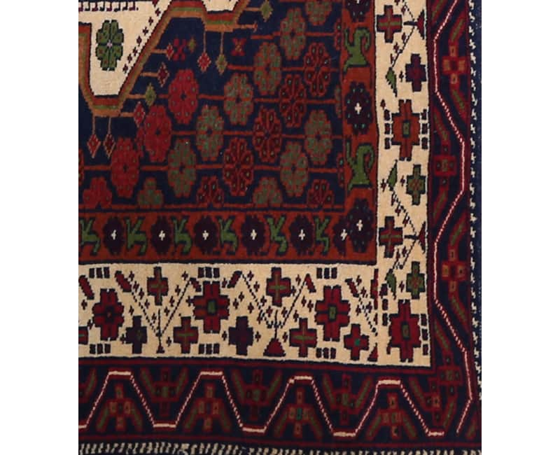 Handwoven Persian Ghochan Area Rug 3 2x5 0 102269 New