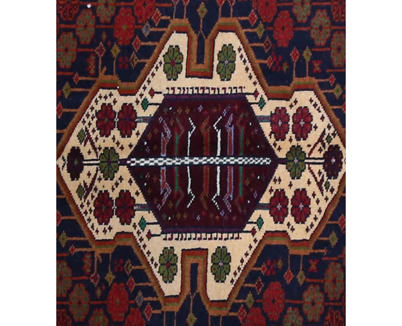 Handwoven Persian Ghochan Area Rug 3 2x5 0 102269 New