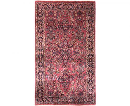 Traditional Handwoven Persian Sarouk Style Rug 3.0x4.8 - 105303