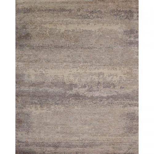 108724 - Contemporary/Transitional Hand-woven Bamboo Silk Rug 7.11 x 9.10