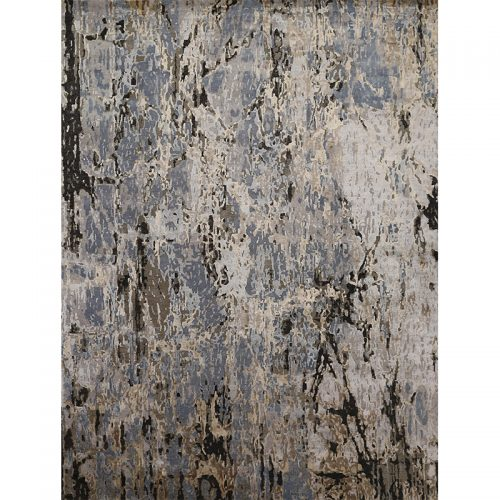 108733 - Contemporary/Transitional Hand-woven Bamboo Silk Rug 8.11 x 11.11