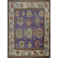 Traditional Handwoven Turkish Oushak Style Rug 8.10x12.0 - 108760