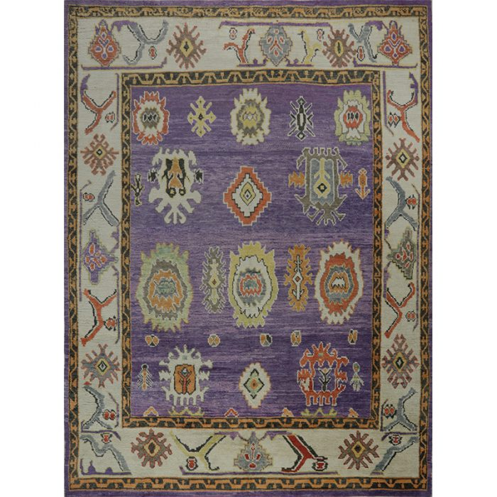 Traditional Handwoven Turkish Oushak Style Rug 8.10x12.0 - 108760