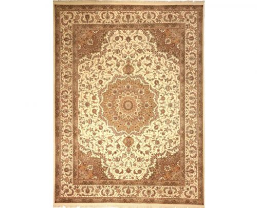 Traditional Handwoven Persian Tabriz Style Rug 9.0x12.0 - 105158