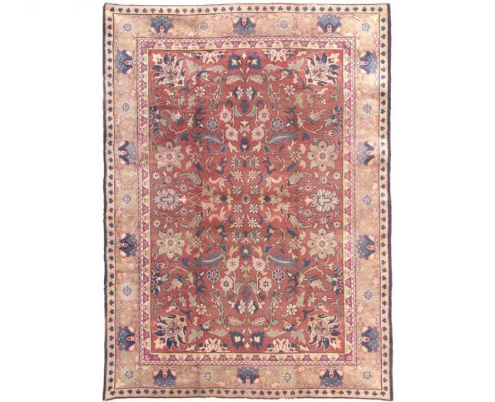 Traditional Handwoven Turkish Oushak Rug 8.1x11.7 - 101452
