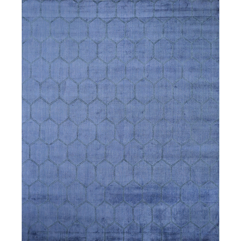 Contemporary Geometric Area Rug 7.11x9.9 - A108722