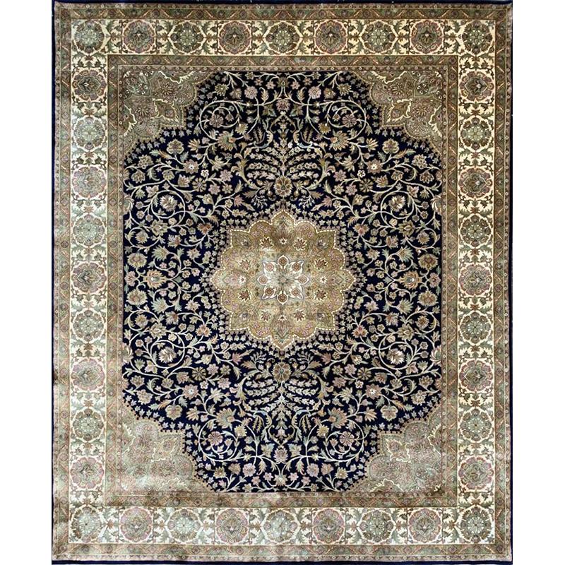 """8'0"""" x 9'8"""" Tabriz Style Rug - 105701"""