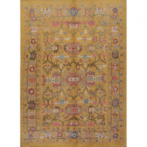 Persian Sultanabad Area Rug 11.9x16.5