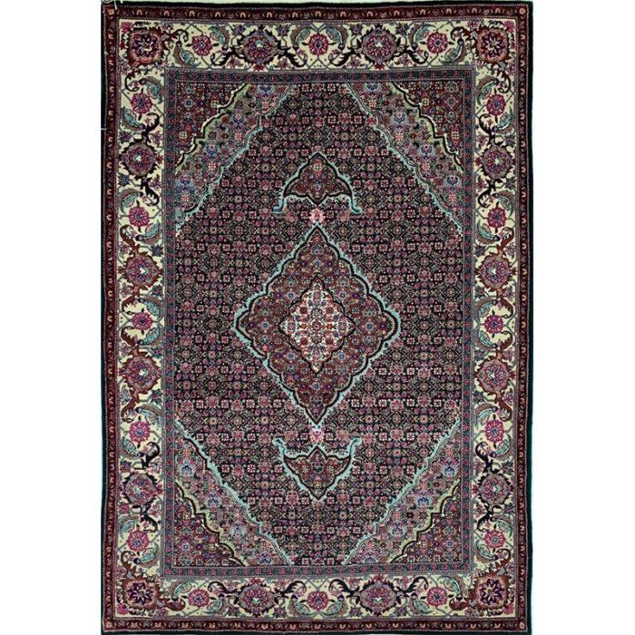 Tabriz Style Silk Area Rug 4.0x6.0 - C101688