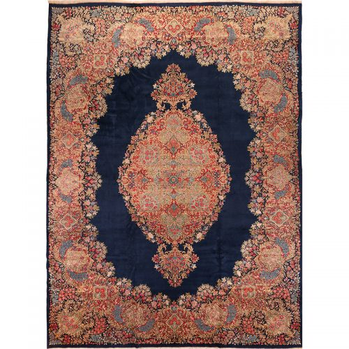 """11'5"""" x 15'5"""" Old Persian Lavar Kerman Rug - 103929"""