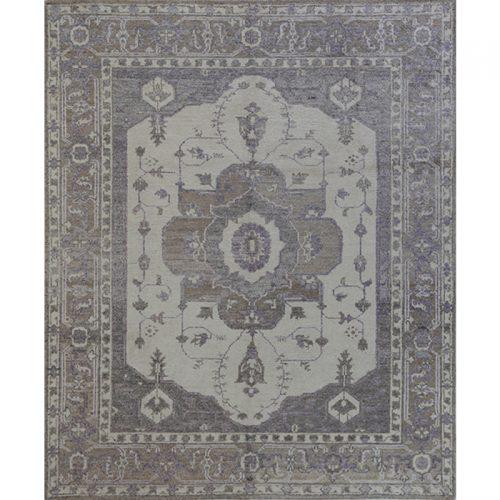 Handwoven Persian Heriz Rug 8.2x9.10 - 500477