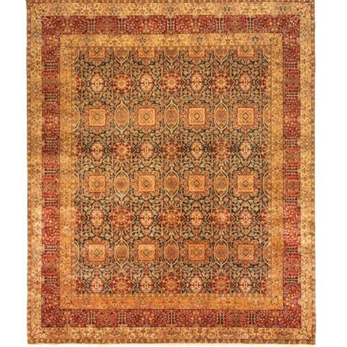 10x12 Indian Mughal Area Rug - 108081