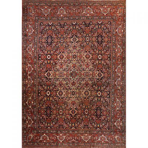"""12'0"""" x 17'0"""" Antique Persian Mashad Rug - 108766"""