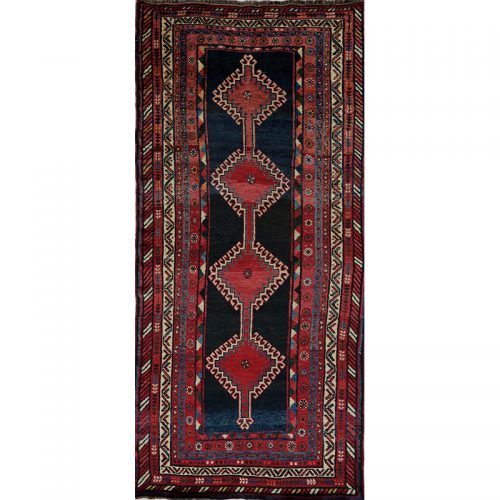 Antique Persian Kord Area Rug 4.5x9.7 - B101497
