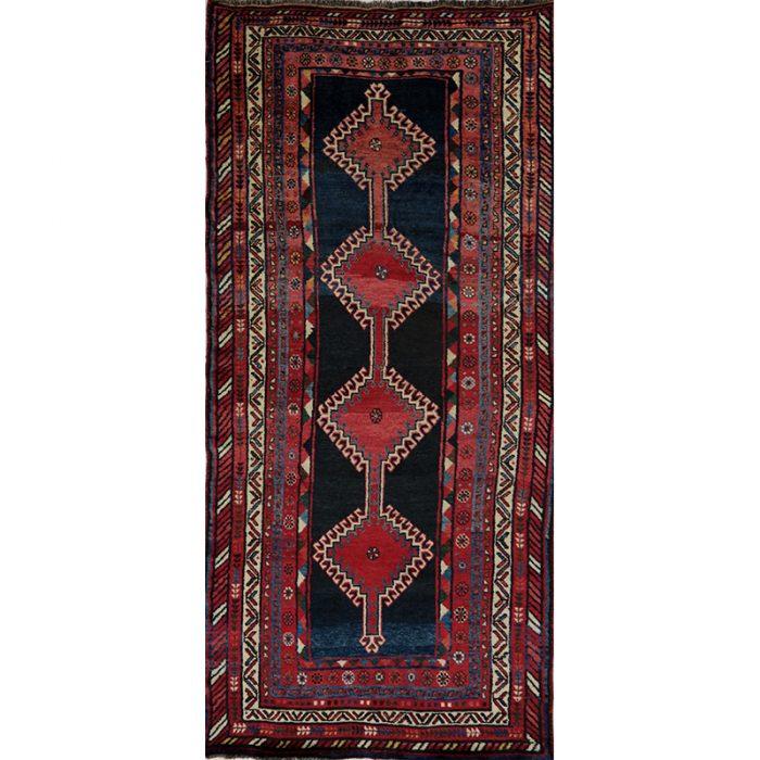 Antique Persian Kord Area Rug 4.5x9.7 - B101497
