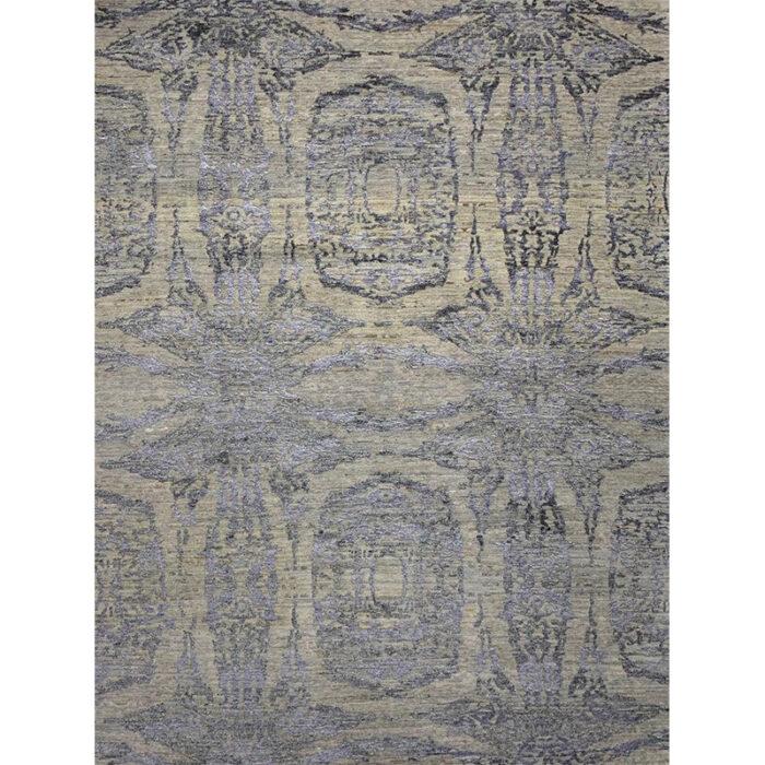 Modern Abstract Area Rug 8.1 x 10.5 - A500508