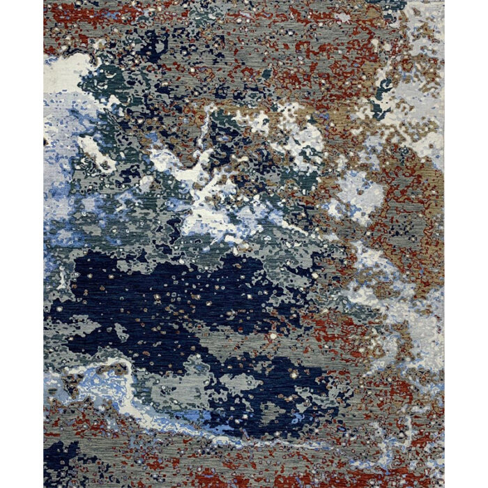 Modern Abstract Area Rug 8.2x10.0 - A500511