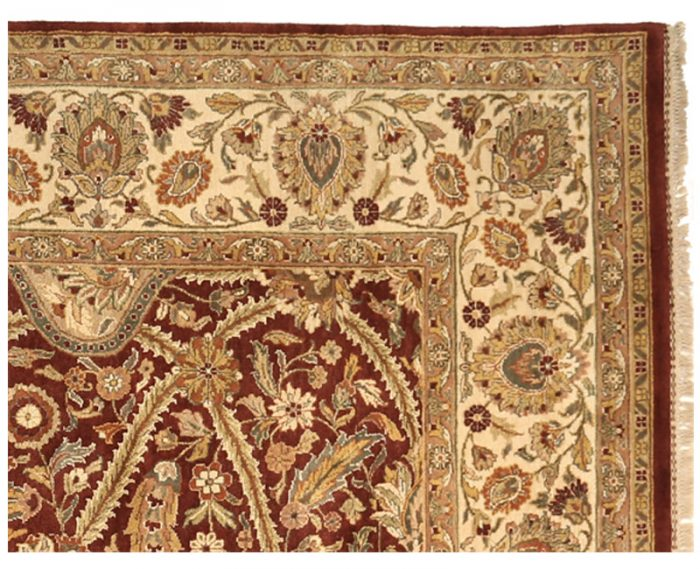 106318 - Indian Agra Area Rug 10.2x13.10