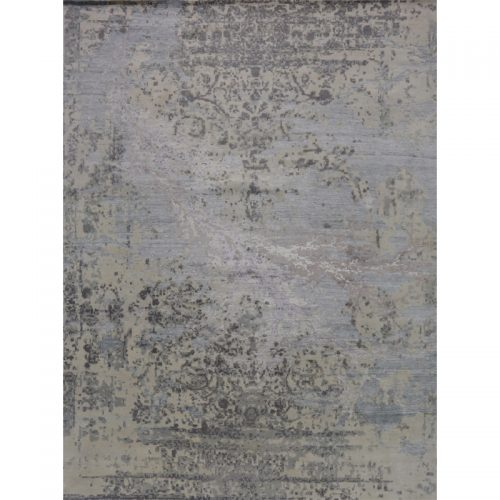 Contemporary/Transitional Hand-woven Rug 9.3 x 12.3 - 500493