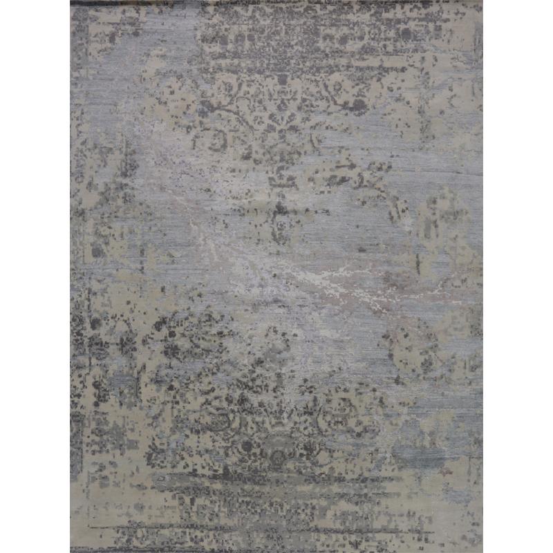 """9'3"""" x 12'3"""" Modern Abstract Rug - 500493"""