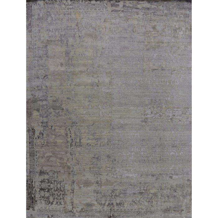 Contemporary/Transitional Hand-woven Rug 9.2 x 12.1 - 500504