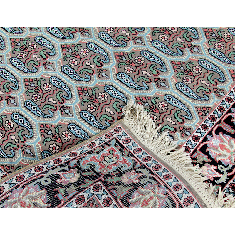 Handwoven Persian Kashmiri Silk Area Rug 4 0x6 9 101973