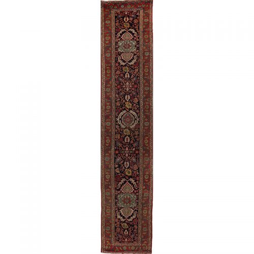 """3'0"""" x 16'1"""" Antique Persian Sultanabad Rug - 107918"""