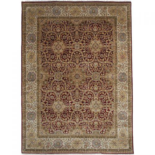9x12 Indian Mughal Area Rug - 107693