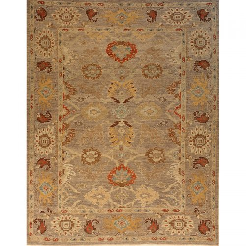 """9'5"""" x 12'0"""" Persian Sultanabad Rug - 108708"""