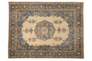 A vintage Sultanabad area rug