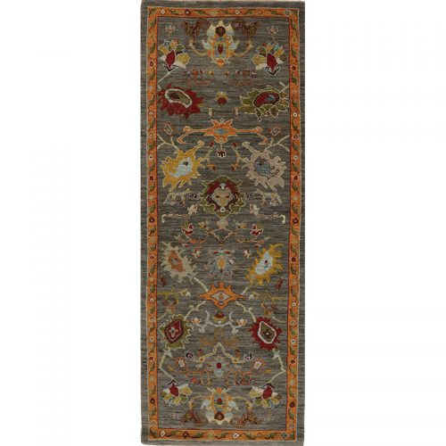 """3'3"""" x 9'1"""" Persian Sultanabad Rug - 110642"""