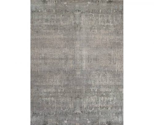 Contemporary/Transitional Hand-woven Bamboo Silk Rug 9.0x12.0 - 108843