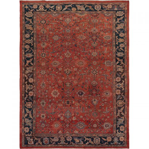 """10'5"""" x 14'0"""" Antique Persian Sultanabad Rug - 110226"""