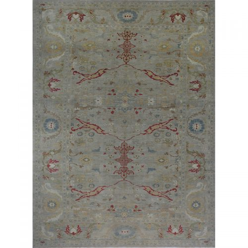 """11'10"""" x 16'1"""" Persian Sultanabad Rug - 110638"""
